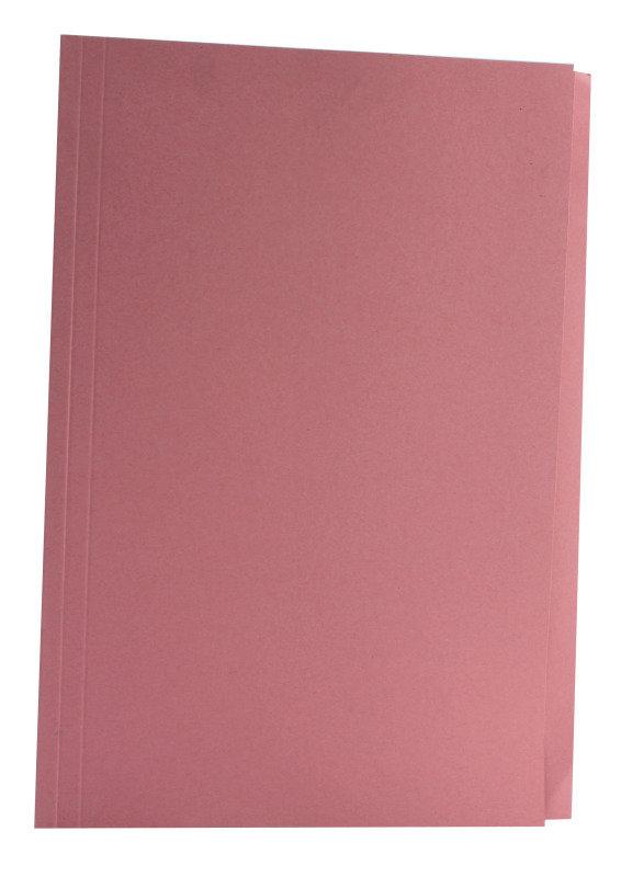 Guildhall  Squarecut Folder 270gm Pink - 100 Pack