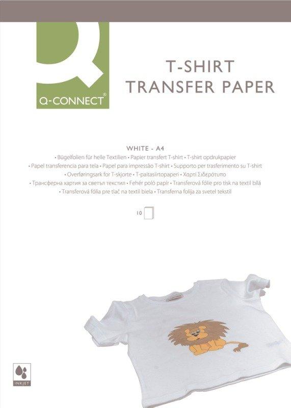 Q CONNECT T SHIRT TRANSFER PAPER PK10