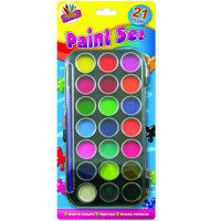 Tallon 21 Colour Paint Set 5104 - 12 Pack