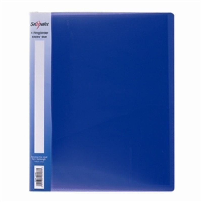 Snopake Ringbinder 2/25 A4 Electra Blue - 10 Pack