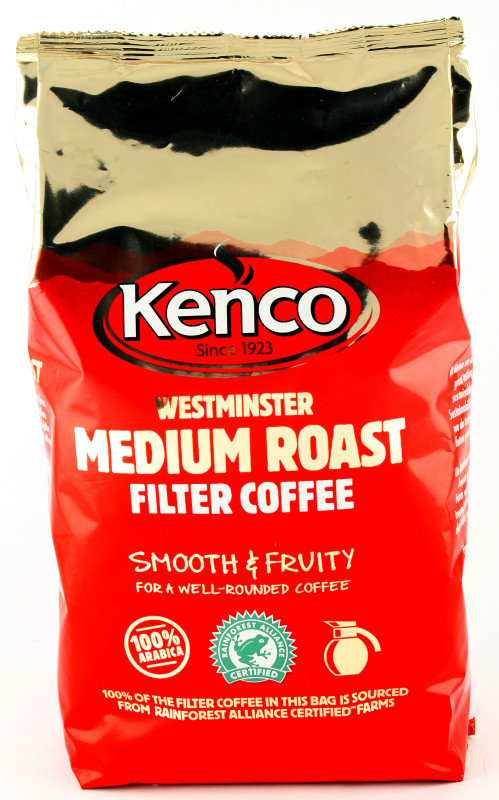 Image of Kenco Westminster Medium Roast Filter Coffee - 1kg