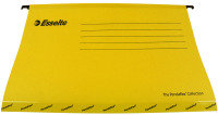 Esselte Classic Economy Suspension Foolscap File Yellow 90335 (Pack of 25)