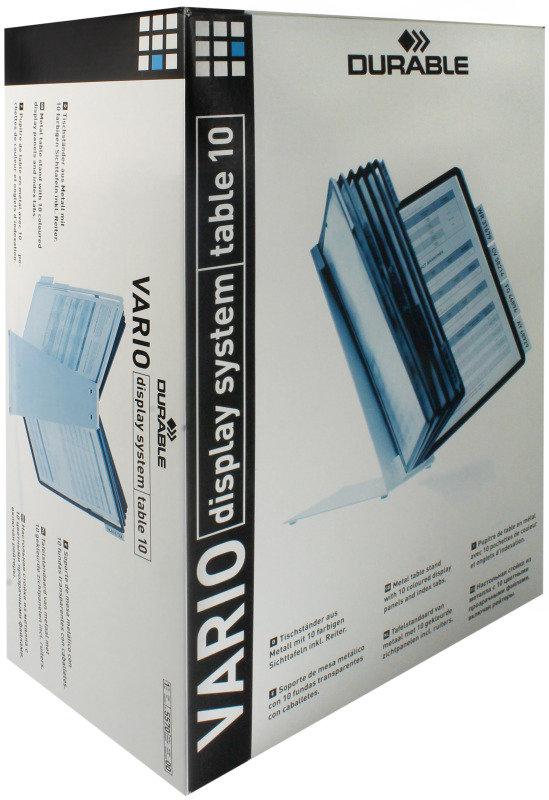 Durable VARIO Desk Unit 10 Assorted
