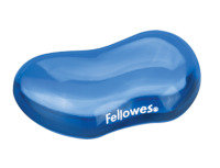 FELLOWES CRYSTAL GEL FLEX REST BLUE