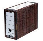 Bankers Box Woodgrain Premium Transfer Files (Pack of 10)