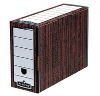 Bankers Box Woodgrain Premium Transfer Files (Pack of 10)