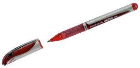 Pentel Energel XM Metal Tip Rollerball Pen - Red (12 Pack)