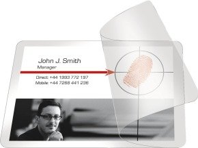 SELF LAMINATING CARDS 54X86 PK100 25230