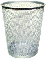 QCONNECT MESH WASTE BASKET SLV KF00849