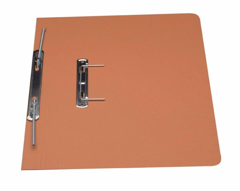 Guildhall Super Heavy Weight Spiral File Orange - 25 Pack