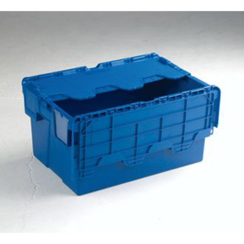 Attached Lidded Box Blue