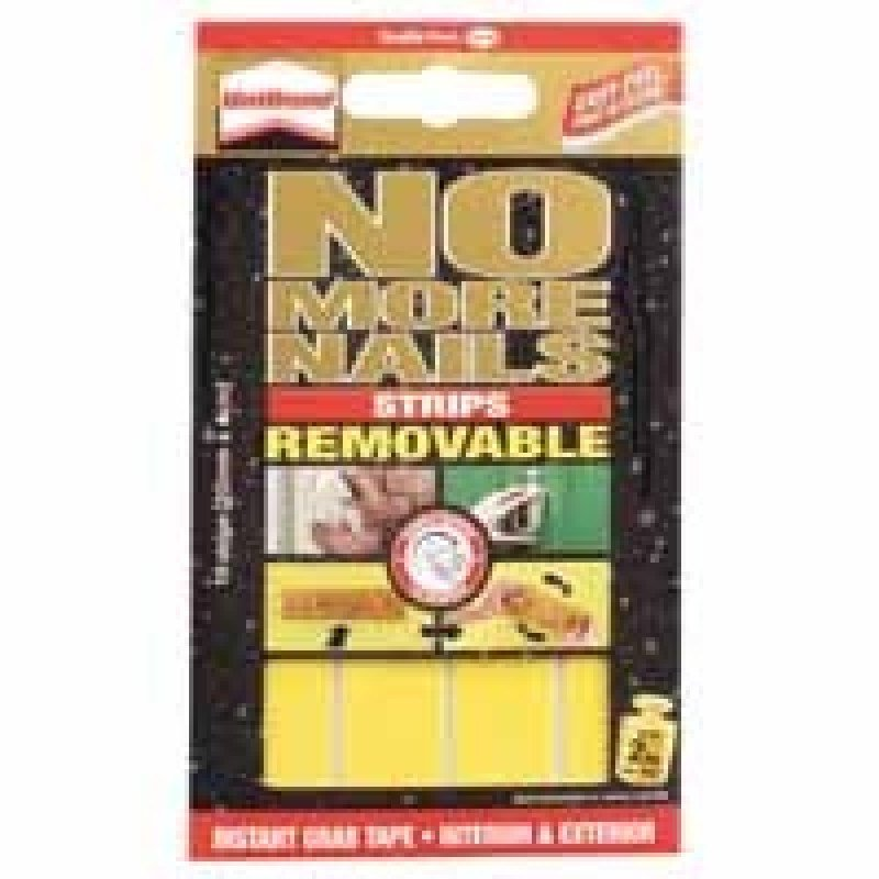 HENKEL NO MORE NAILS STRIP REMOVABLE YLW