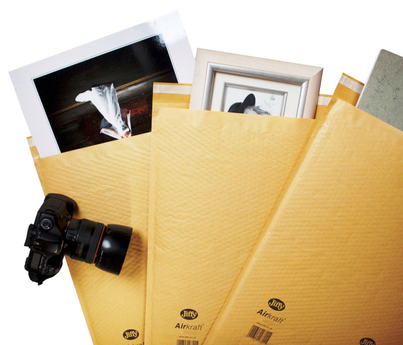 Image of JIFFY AIRKRAFT GOLD 90X145MM P150 GO-000