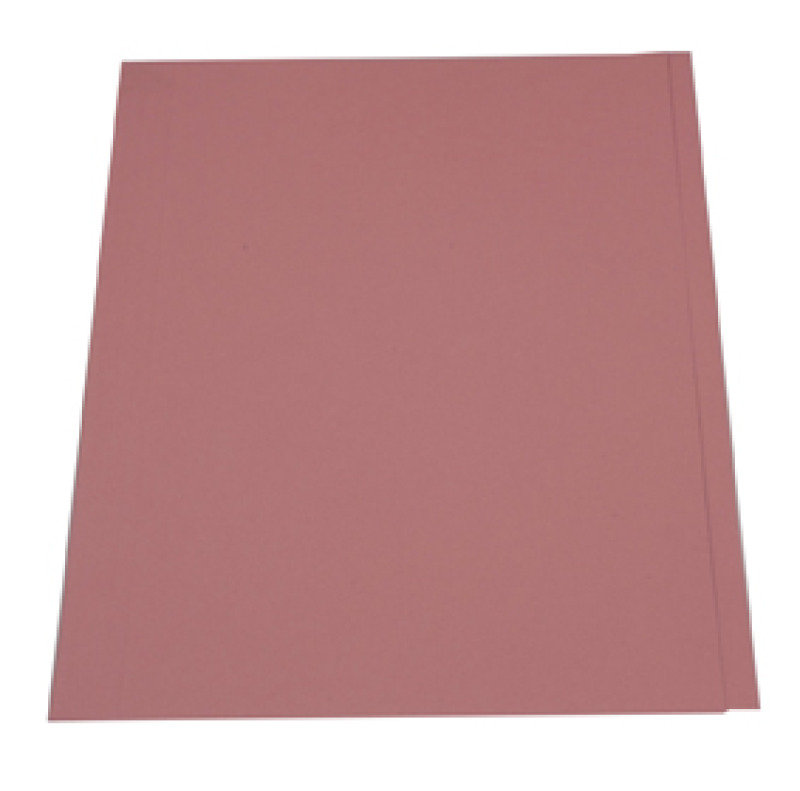 Guildhall Square Cut Folder 315gsm Pink - 100 Pack