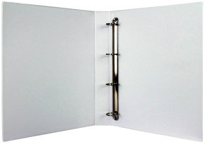 Wb Pres Binder 4 D Ring White 25mm - 10 Pack