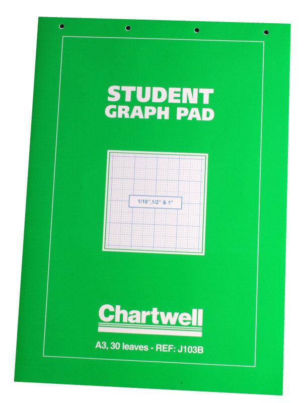 Image of Chartwell Graph Pad A3