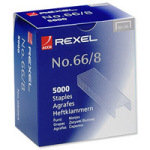 REXEL STAPLES NO66/8 8MM 06065 PK5000