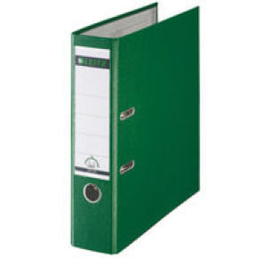 Leitz Leverarch Pp A4 80mm Green 1010-55 - 10 Pack