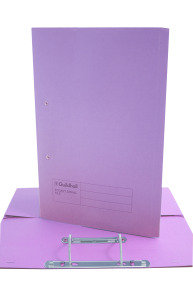 Guildhall Transfer File Foolscap Mauve - 25 Pack