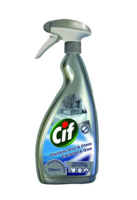 CIF Professional Stainless Steel and Glass Cleaner - 750ml