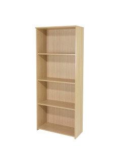 Ff Jemini 1750mm Large Bookcase Oak