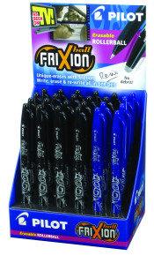 Pilot Frixion Erasable Rollerball Pen (24 Pack) Blue/Black