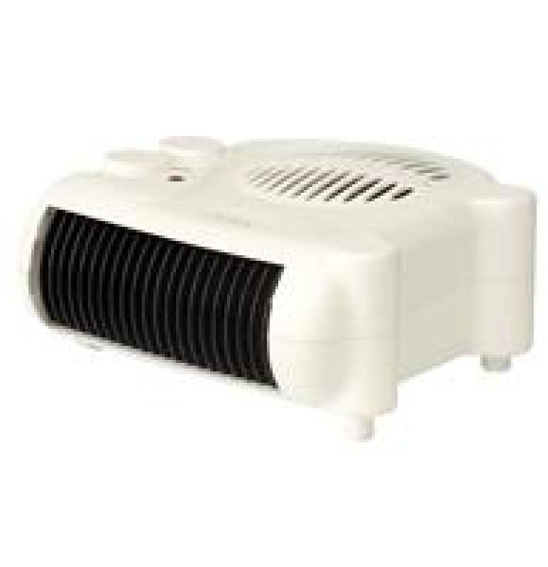 Image of Crown 2kw Flat Fan Heater White