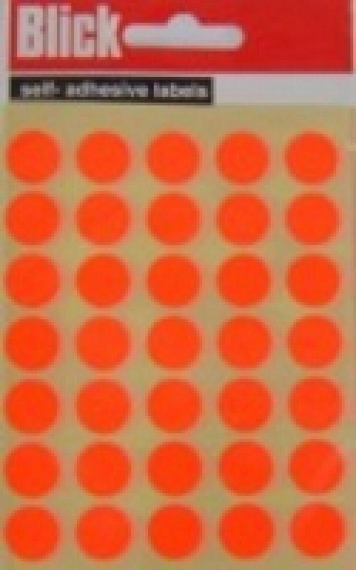 Blick Label Fluo Bag 13Mm Red 140 004554 - 20 Pack