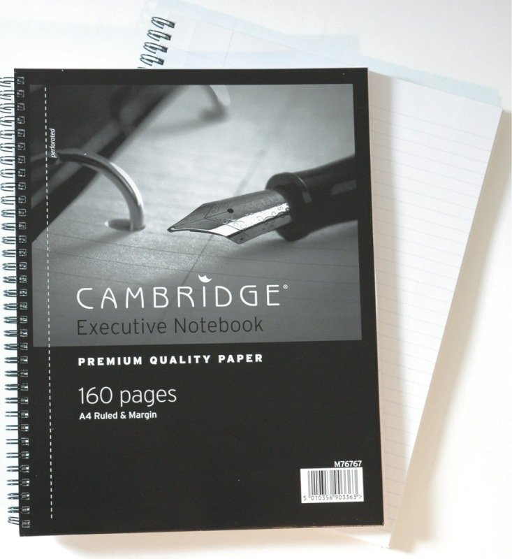 Image of Cambridge Refill Pad A4 Fm M76767 - 3 Pack