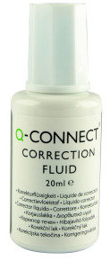 Q Connect Correction Fluid 20ml - 10 Pack