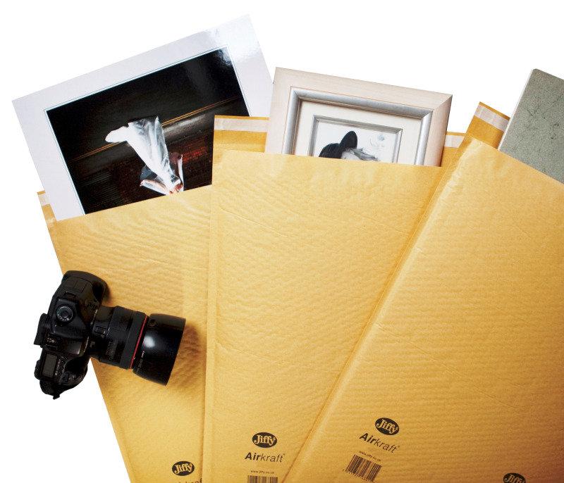 Image of JIFFY AIRKRAFT GOLD 340X445MM PK50 GO-7
