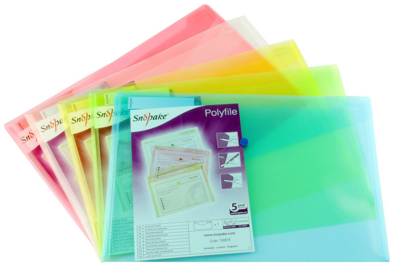 SNOPAKE POLYFILE FCP ASSORTED PK5