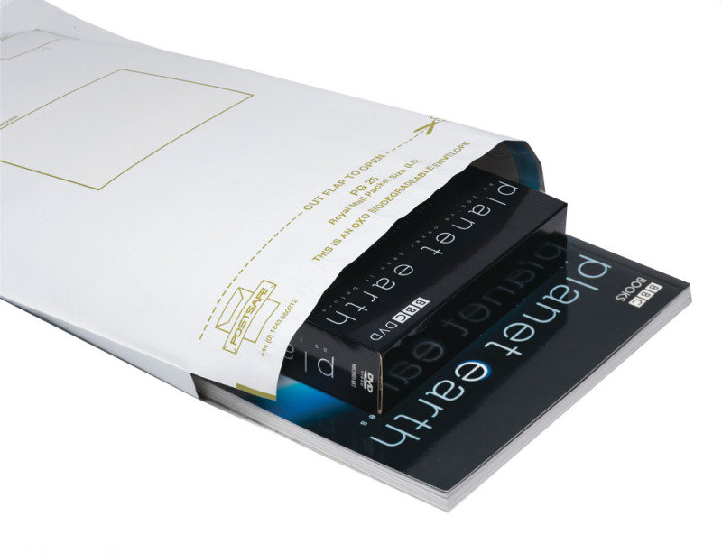PostSafe C3 Biodegradable Peel & Seal Polythene Envelopes x100