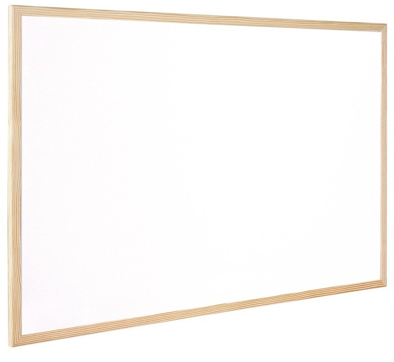 QCONNECT WHITEBOARD WOODFRAME 40X30CM