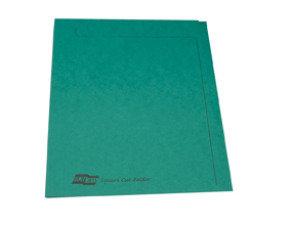 Europa Squarecut Folder Foolscap - Green - 50 Pack