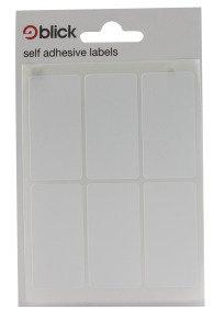 Blick Label Bag 25x50 Wht Pk42 001959 - 20 Pack