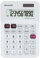 Sharp EL331FB Desktop Calculator - White