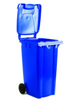 FD REFUSE CONTAINER 120L 2 WHLD BLU 33