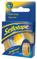 Sellotape 18mmx10m Sellotape Golden Tape - 8 Pack