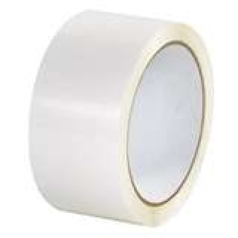 Polypropylene Tape 50x66 White 62050661 - 6 Pack