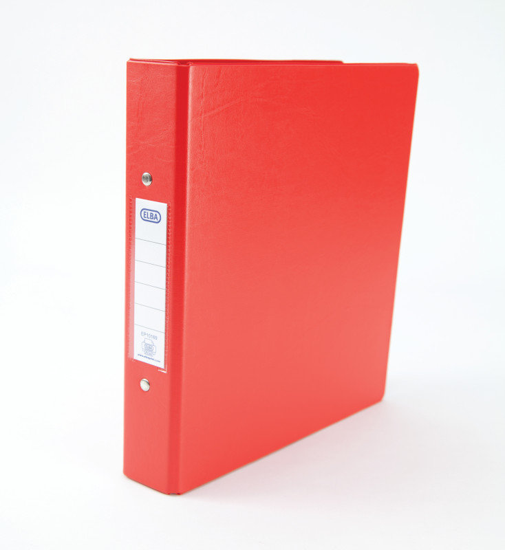 Elba Red A5 2Ring Binder (Pack of 10)
