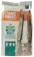 Cafedirect Fair Trade Organic Decaf Ground Coffee - 227g