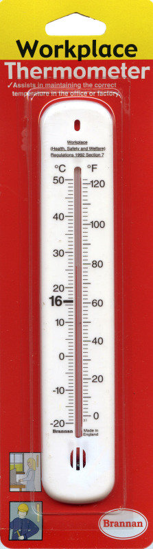 Wallace Cameron 4830007 Wall Thermometer