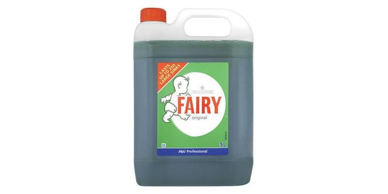 FAIRY ORIGINAL HAND DISH WASH 5 LITRE