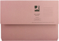 Extra Value Pink Document Wallet - 50 Pack