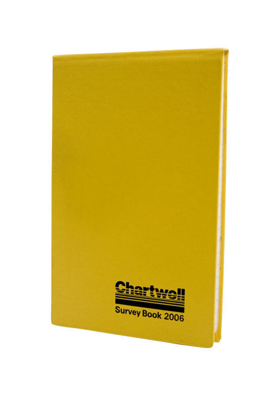 Chartwell Weather Resistant Survery Book Yellow