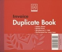 Silvine Dup Book 4x5 Invoice 616 - 12 Pack
