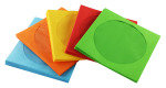 Fellowes Assorted Colours CD Paper Envelopes - 50 Pk