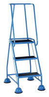 VFM Light Blue 3 Tread Step