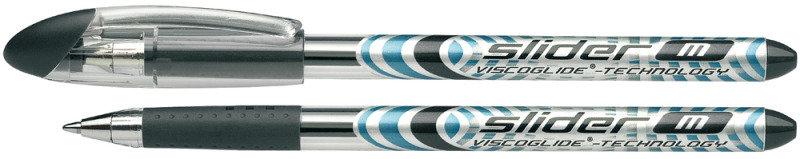 Schneider Black Medium Slider Ballpoint Pen (Pack of 10)